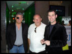 At Palms Ghostbar with Celebrity Journalists Norm Clarke - Vegas Confidential, Robin Leach - Vegas Deluxe, & Steve Friess - VegasHappensHere / TheStripPodcast